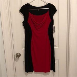 Ronni Nicole Black/Red Dress Size 10
